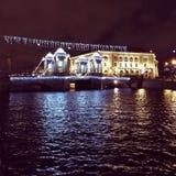 Νύχτα της πόλης Στοκ εικόνες με δικαίωμα ελεύθερης χρήσης