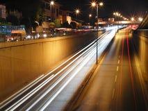 Νύχτα της Τουρκίας Κωνσταντινούπολη Στοκ εικόνες με δικαίωμα ελεύθερης χρήσης