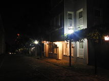 Νύχτα της Τουρκίας Κωνσταντινούπολη Στοκ φωτογραφία με δικαίωμα ελεύθερης χρήσης