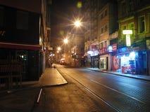 Νύχτα της Τουρκίας Κωνσταντινούπολη Στοκ Φωτογραφίες
