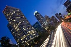 νύχτα της Angeles Los Στοκ Φωτογραφίες