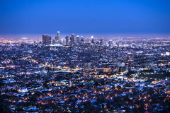 νύχτα της Angeles Los Στοκ Εικόνες