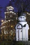 νύχτα τοπίων στοκ φωτογραφία