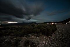 Νύχτα του Κολοράντο scapes στοκ εικόνα με δικαίωμα ελεύθερης χρήσης
