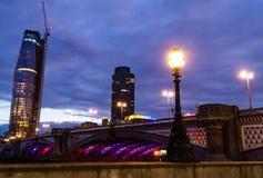 Νύχτα του Λονδίνου Στοκ Εικόνες
