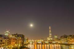 νύχτα του Λονδίνου Στοκ εικόνα με δικαίωμα ελεύθερης χρήσης