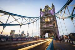 νύχτα του Λονδίνου στοκ εικόνες με δικαίωμα ελεύθερης χρήσης