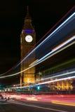 νύχτα του Λονδίνου Στοκ φωτογραφία με δικαίωμα ελεύθερης χρήσης