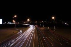 νύχτα του Μινσκ στοκ εικόνα με δικαίωμα ελεύθερης χρήσης