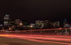 Νύχτα του Ντένβερ Στοκ Φωτογραφίες