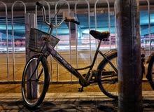 Νύχτα του Πεκίνου στοκ φωτογραφίες