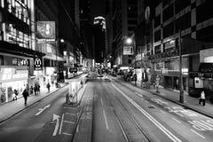 νύχτα του Χογκ Κογκ Στοκ Φωτογραφίες