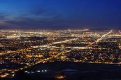 Νύχτα του Phoenix Αριζόνα Στοκ Φωτογραφίες