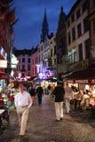 νύχτα των Βρυξελλών στοκ φωτογραφία με δικαίωμα ελεύθερης χρήσης