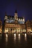 νύχτα των Βρυξελλών Στοκ Φωτογραφία