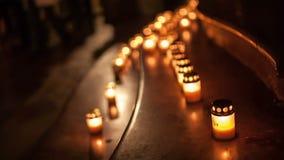Νύχτα των εκκλησιών απόθεμα βίντεο