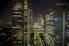 νύχτα Τόκιο Στοκ φωτογραφία με δικαίωμα ελεύθερης χρήσης