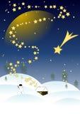 νύχτα Χριστουγέννων Στοκ εικόνες με δικαίωμα ελεύθερης χρήσης