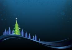 νύχτα Χριστουγέννων απεικόνιση αποθεμάτων