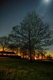 νύχτα χρωμάτων Στοκ Φωτογραφίες