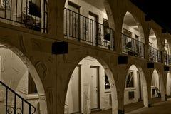 νύχτα 2 ξενοδοχείων Στοκ Εικόνες