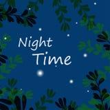 νύχτα διανυσματική απεικόνιση