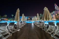 Νύχτα Antalya Στοκ φωτογραφία με δικαίωμα ελεύθερης χρήσης