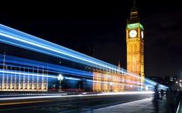 Νύχτα Big Ben Στοκ Φωτογραφίες
