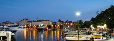 Νύχτα Budva Στοκ εικόνες με δικαίωμα ελεύθερης χρήσης