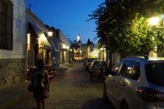 Νύχτα Colonia Στοκ εικόνα με δικαίωμα ελεύθερης χρήσης