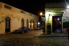 Νύχτα Colonia Στοκ φωτογραφία με δικαίωμα ελεύθερης χρήσης