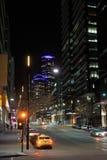 Νύχτα Docklands της Μελβούρνης Στοκ Εικόνες