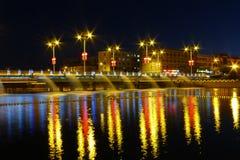 Νύχτα Dunhuang Στοκ Εικόνες