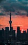 Νύχτα mingzhu Dongfang Στοκ Εικόνες