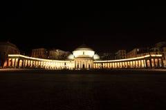 νύχτα napoli της Ιταλίας Στοκ Εικόνες