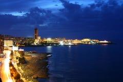 νύχτα paceville Στοκ εικόνα με δικαίωμα ελεύθερης χρήσης