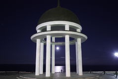νύχτα rotunda Στοκ Φωτογραφίες