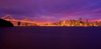 νύχτα SAN Francisco Στοκ Εικόνα
