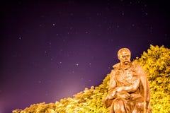 Νύχτα Taras Shevchenko Στοκ φωτογραφία με δικαίωμα ελεύθερης χρήσης