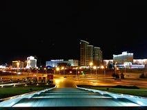 νύχτα ViewCity στοκ εικόνες