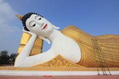 ξάπλωμα του Βούδα στοκ φωτογραφίες με δικαίωμα ελεύθερης χρήσης