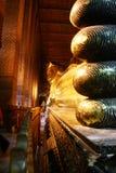 ξάπλωμα του Βούδα στοκ εικόνα