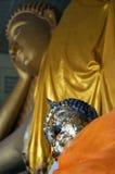 ξάπλωμα hua 01 Βούδας hin Στοκ Φωτογραφία