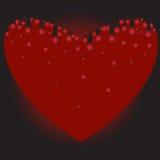 ξέβαή καρδιά Στοκ φωτογραφία με δικαίωμα ελεύθερης χρήσης