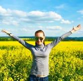 Ξένοιαστο κορίτσι Στοκ φωτογραφία με δικαίωμα ελεύθερης χρήσης