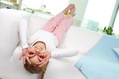 Ξένοιαστο παιδί Στοκ φωτογραφία με δικαίωμα ελεύθερης χρήσης