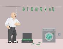 Ξέπλυμα χρημάτων Απεικόνιση αποθεμάτων