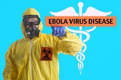 Ξέσπασμα Ebola στοκ εικόνες