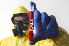 Ξέσπασμα Ebola στοκ εικόνα