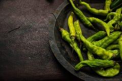 Ξήρανση πιπεριών Στοκ Φωτογραφία